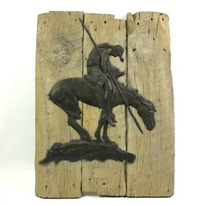 RELIEF PLAQUE END OF THE TRAIL JAMES EARLE FRASER LIMITED EDITION 247 OF 5000