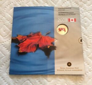 2008 CANADA COMMEMORATIVE 7 COIN PROOF SET ROYAL CANADIAN MINT SEALED.