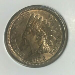 Click now to see the BUY IT NOW Price! 1863 INDIAN HEAD CENT   NICE UNCIRCULATED