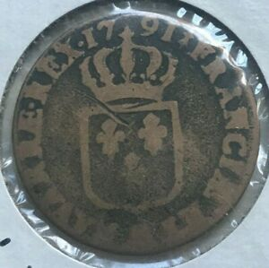 Click now to see the BUY IT NOW Price! 1791 MA FRANCE 1 ONE SOL   LOUIS XVI