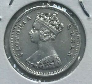 Click now to see the BUY IT NOW Price! 1895 HONG KONG 10 CENTS   NICE SILVER