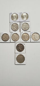 HALF ROLL 1923 1926 PEACE DOLLARS VALUED FROM GOOD TO BU