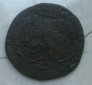 Click now to see the BUY IT NOW Price! 1680 SPANISH NETHERLANDS ANTWERP   CARLOS II & MARIE LOUISE D'ORLEANS MARRIAGE