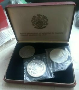 Click now to see the BUY IT NOW Price! 1965 GARDINERS ISLAND PROOF SET   THREE  3  COIN SET