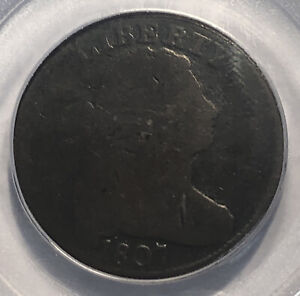 1807 LARGE CENT COMET VARIETY PCGS G 04
