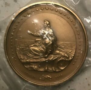 Click now to see the BUY IT NOW Price! 1866 CONGRESSIONAL STEAM SHIP SAN FRANCISCO LIFE SAVING MEDAL PAQUET