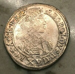 Click now to see the BUY IT NOW Price! 1660 AUSTRIA 15 KREUZER   NEAT 17TH CENTURY SILVER