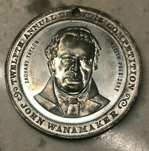 Click now to see the BUY IT NOW Price! 1923 WANAMAKER'S CHILDRENS CHRISTMAS DRAWING COMPETITION MEDAL