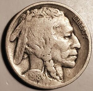 1918 P BUFFALO NICKEL   PLEASING COIN WITH NO PROBLEMS AND NICE OLD NATURAL TONE