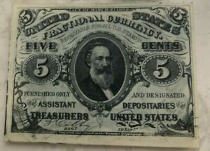 Click now to see the BUY IT NOW Price! 1863 UNITED STATES FRACTIONAL CURRENCY 5 CENT NOTE