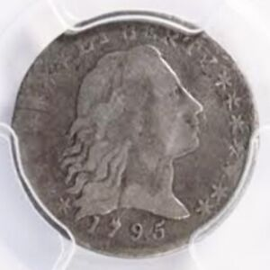 Click now to see the BUY IT NOW Price! 1795 FLOWING HAIR HALF DIME PCGS FINE DETAILS