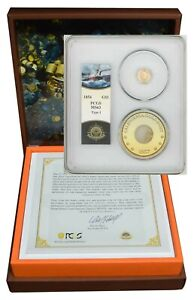1854 T1 $ GOLD LIBERTY SSCA2 CENTRAL AMERICA MS63 PCGS 943897 13  FINEST KNOWN