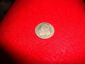 1827 UNITED STATES CAPPED BUST CAPPED DIME OLD AND  CIRCULATED