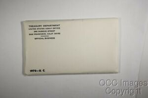 1970 US MINT SET / NICE ENVELOPE / NO STICKERS OR WRITING