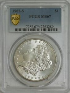 Click now to see the BUY IT NOW Price! 1902 S MORGAN DOLLAR $ MS67 PCGS SECURE 942176 14