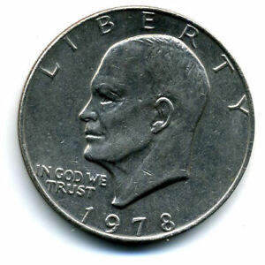 NICE 1978 P EISENHOWER DOLLAR CHOICE BRILLIANT UNCIRCULATED MINT STATE COIN4957