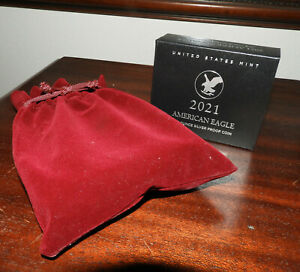 2021 W US MINT AMERICAN EAGLE T 2 ONE OUNCE SILVER PROOF COIN W/ MYSTERY BAG