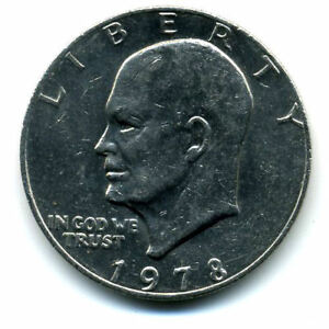 NICE 1978 P EISENHOWER DOLLAR CHOICE BRILLIANT UNCIRCULATED MINT STATE COIN4705
