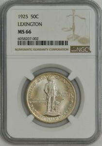 Click now to see the BUY IT NOW Price! 1925 LEXINGTON 50C MS66 NGC 944419 5