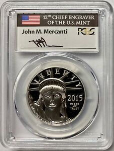 Click now to see the BUY IT NOW Price! 2015 W PLATINUM EAGLE PCGS PR70 DCAM FS MERCANTI POP 17