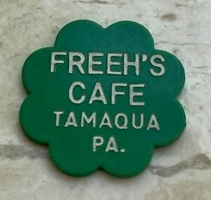 Click now to see the BUY IT NOW Price! TAMAQUA PENNSYLVANIA PA FREEH'S CAFE TRADE TOKEN