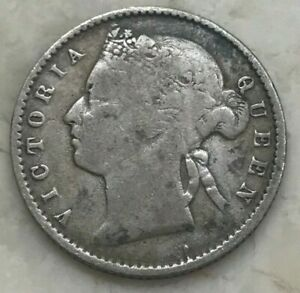 Click now to see the BUY IT NOW Price! 1871 STRAITS SETTLEMENTS 10 CENTS    SILVER