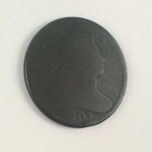 1803 US LARGE CENT DRAPED BUST AG