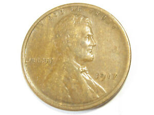 1917 LINCOLN WHEAT CENT   XF/AU   7098 2