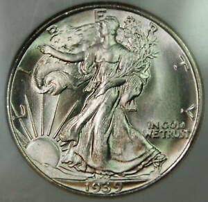 Click now to see the BUY IT NOW Price! 1939 S WALKING LIBERTY HALF DOLLAR NGC MS 66 JULES REIVER COLLECTION  BETTER