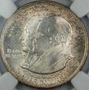 Click now to see the BUY IT NOW Price! 1923 S MONROE COMMEMORATIVE SILVER HALF DOLLAR NGC MS 65 TONED