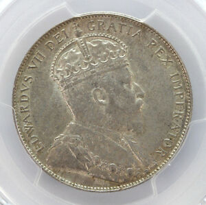 Click now to see the BUY IT NOW Price! 1907 CANADA SILVER HALF DOLLAR EDWARD VII KM12 PCGS   MS62 01294216G