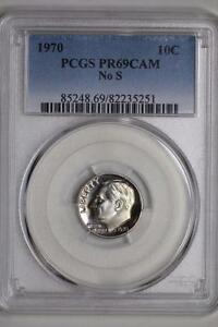 Click now to see the BUY IT NOW Price! 1970 NO S ROOSEVELT DIME PF69CAM PCGS US MINT PROOF 10C COIN