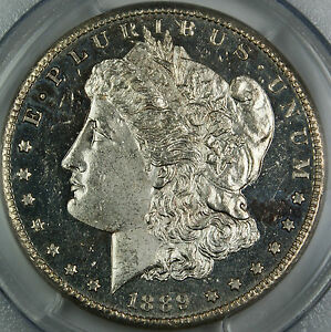 Click now to see the BUY IT NOW Price! 1889 CC PCGS MS 62 DMPL $1 MORGAN SILVER DOLLAR KEY CARSON CITY COIN BETTER