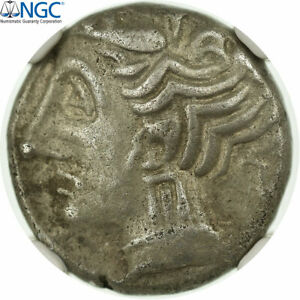 Click now to see the BUY IT NOW Price! [31562] GAULE DU SUD OUEST DRACHME IMITATION DE RHOD NGC CH XF  5/5