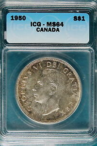 Click now to see the BUY IT NOW Price! 1950 ICG MS64 CANADA DOLLAR  B4936