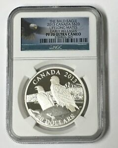 Click now to see the BUY IT NOW Price! 2013 CANADA THE BALD EAGLE NGC PF 70 ULTRA CAMEO LIFELONG MATES E/R