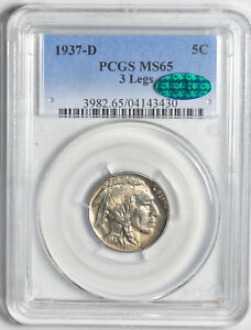 Click now to see the BUY IT NOW Price! 1937 D BUFFALO 5C PCGS MS 65