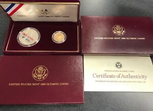 Click now to see the BUY IT NOW Price! UNITED STATES MINT 1988 OLYMPIC COINS/ COMMEMORATIVE PROOF SET  C 181