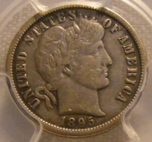 Click now to see the BUY IT NOW Price! NICE 1895 O BARBER DIME PCGS VF 35