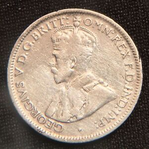 Click now to see the BUY IT NOW Price! AUSTRALIA. 1926 SIXPENCE. SILVER. KING GEORGE V. BETTER YEAR.