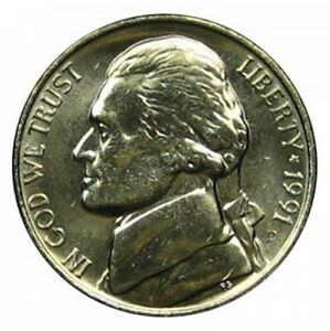 1991 D JEFFERSON NICKEL UNCIRCULATED   OFFER