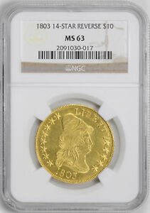 Click now to see the BUY IT NOW Price! 1803 DRAPED BUST $10 NGC MS 63