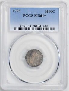 1795 FLOWING HAIR H10C PCGS MS 64