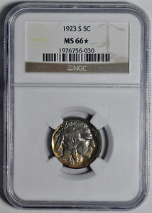 Click now to see the BUY IT NOW Price! 1923 S BUFFALO 5C NGC MS 66