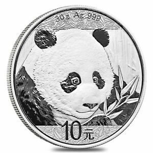 Click now to see the BUY IT NOW Price! 2018 CHINESE PANDA   30 GRAM .999 SILVER IN CAPSULE
