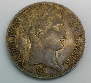 Click now to see the BUY IT NOW Price! 1809 W FRANCE NAPOLEON BONAPARTE 5 FRANCS SILVER  NICE ORIGINAL  COIN