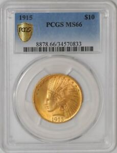 Click now to see the BUY IT NOW Price! 1915 $10 GOLD INDIAN 34570833 MS66 SECURE PLUS PCGS