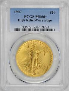 Click now to see the BUY IT NOW Price! 1907 ST. GAUDENS $20 PCGS MS 66