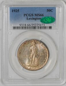 Click now to see the BUY IT NOW Price! 1925 LEXINGTON 50C 25225473 MS66 PCGS   CAC