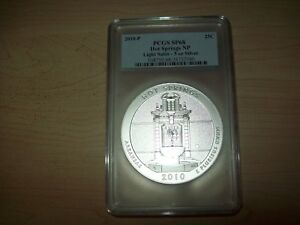 Click now to see the BUY IT NOW Price! 2010 P AMERICA THE BEAU. ATB 5 OZ HOT SPRINGS PCGS SP69 FS LIGHT SATIN